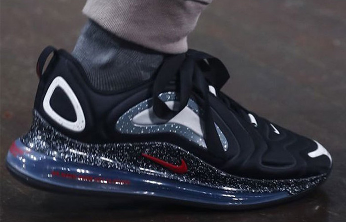 UNDERCOVER Nike Air Max 720 Black CN2408-001 on foot 01