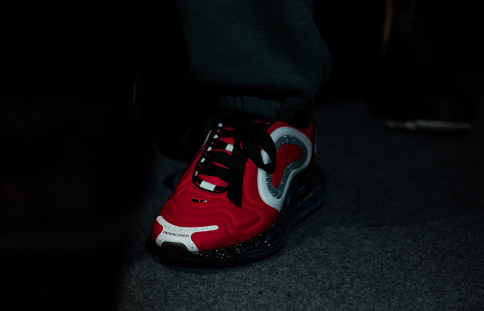 UNDERCOVER Nike Air Max 720 Red CN2408-600 on foot 01