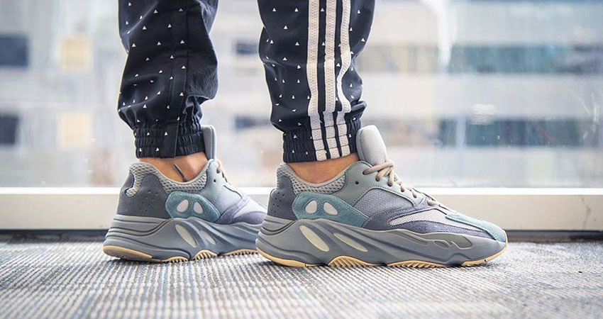 Your Best Look Yet At The adidas Yeezy 700 'Teal Blue' 01