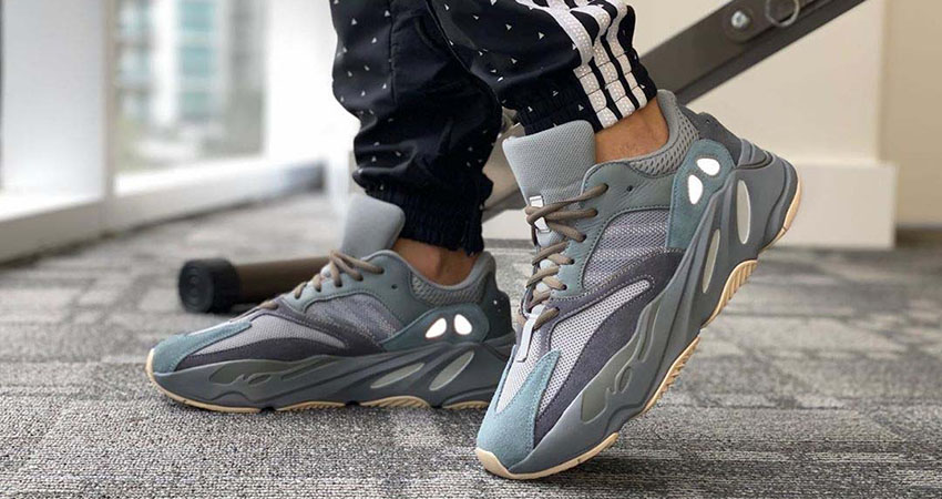 Your Best Look Yet At The adidas Yeezy 700 'Teal Blue'
