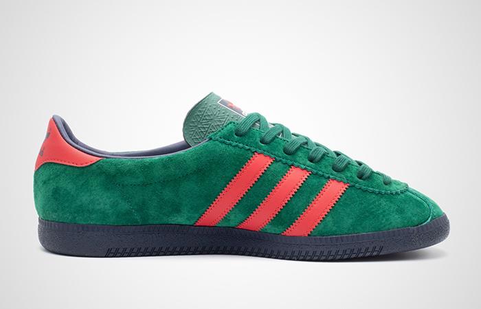 adidas Blackburg SPZL Red Green EF1158 03