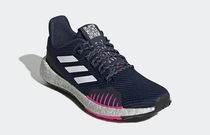 adidas Pulseboost Winter Pink Navy EF8909 02