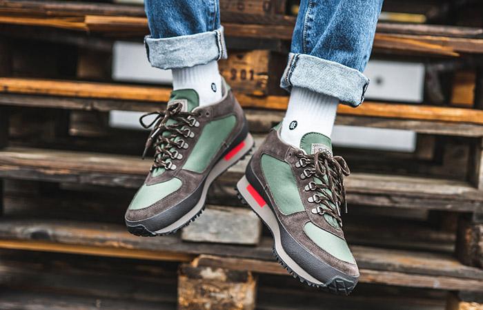 adidas Winterhill SPZL Green EF1157 on foot 01