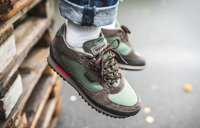 adidas Winterhill SPZL Green EF1157 on foot 02