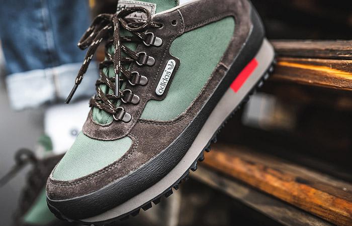 adidas Winterhill SPZL Green EF1157 on foot 03