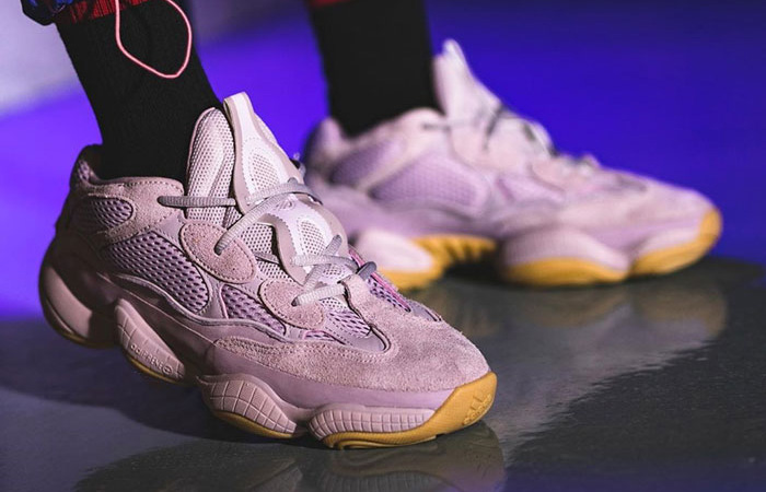 adidas Yeezy 500 Soft Vision FW2656 on foot 02