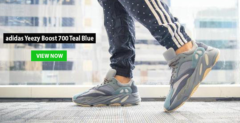 adidas Yeezy Boost 700 Teal Blue slide
