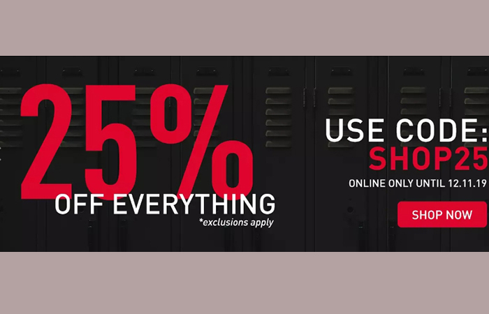 25% Off Everything At Foot Locker UK!! ft