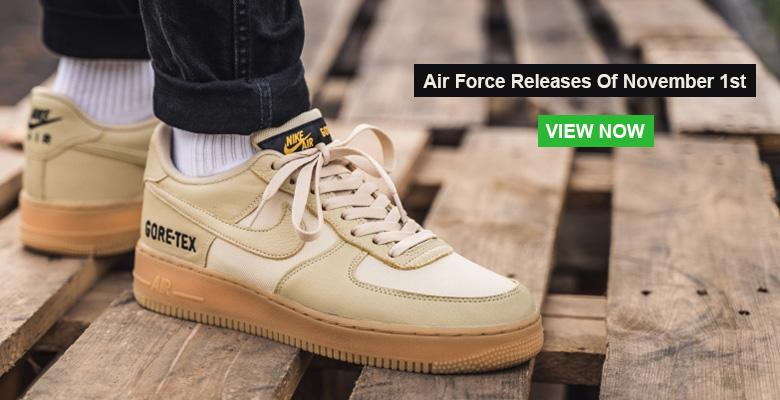 Air Force Releases Of November 1st Slider