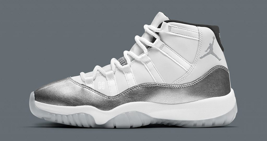 Air Jordan 11 Womens Metallic Silver Releasing This November 01