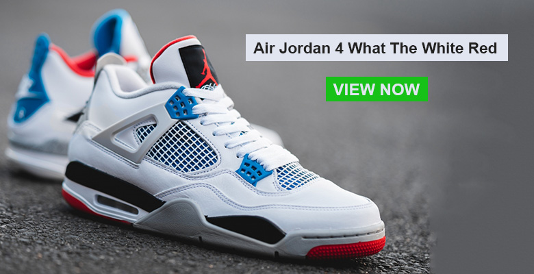 Air Jordan 4 What The White Red slider