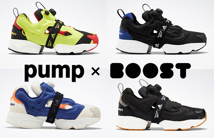 Few Detailed Looks At Reebok Instapump Fury Boost ft