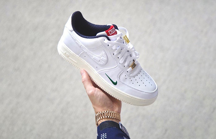 First Look At The KITH Nike Air Force 1 Low True White ft