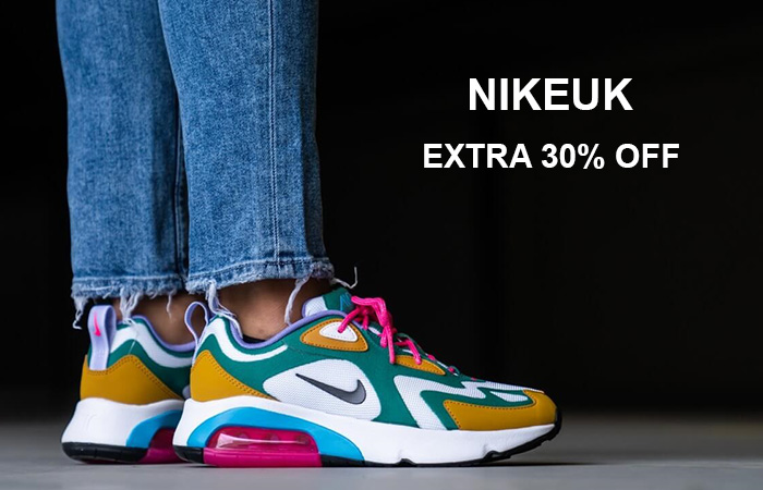 Get Extra 30% Off On These Selected Items At NikeUk ft