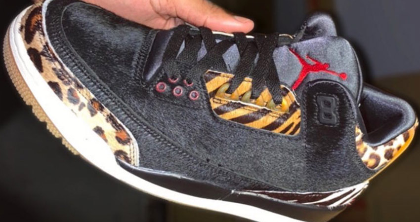 Have A Look At The Upcoming Nike Air Jordan 3 Animal Pack