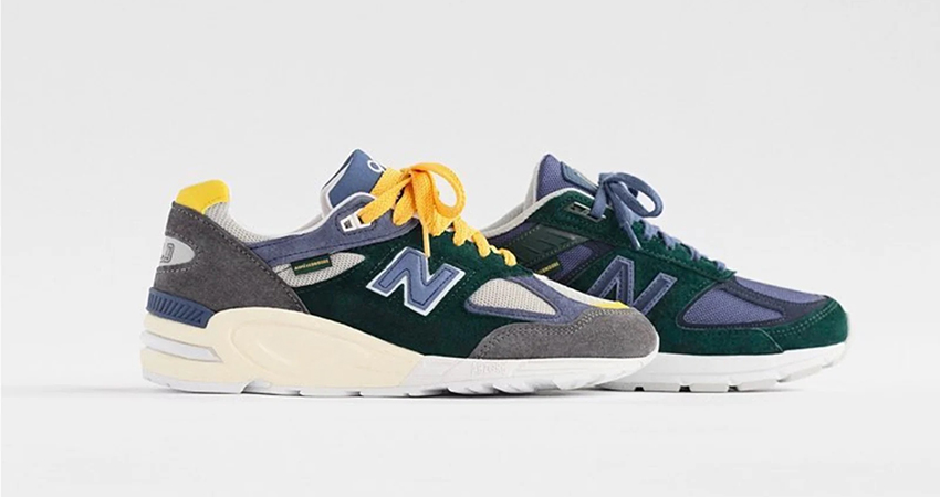 Here Is The First Look At The Aimé Leon Dore New Balance 990 Collab
