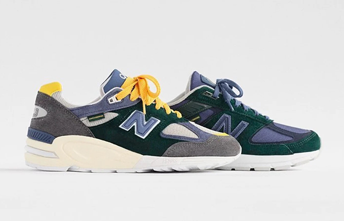 Here Is The First Look At The Aimé Leon Dore New Balance 990 Collab ft