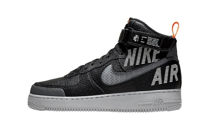 Nike Air Force 1 High Grey Black CQ0449-001 01