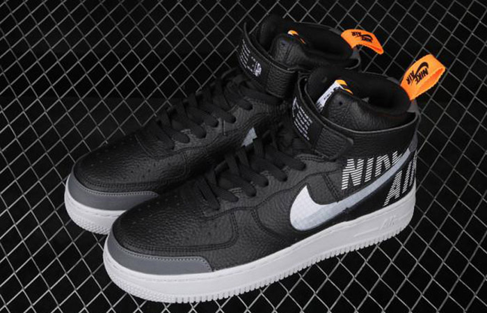 Nike Air Force 1 High Grey Black CQ0449-001 03