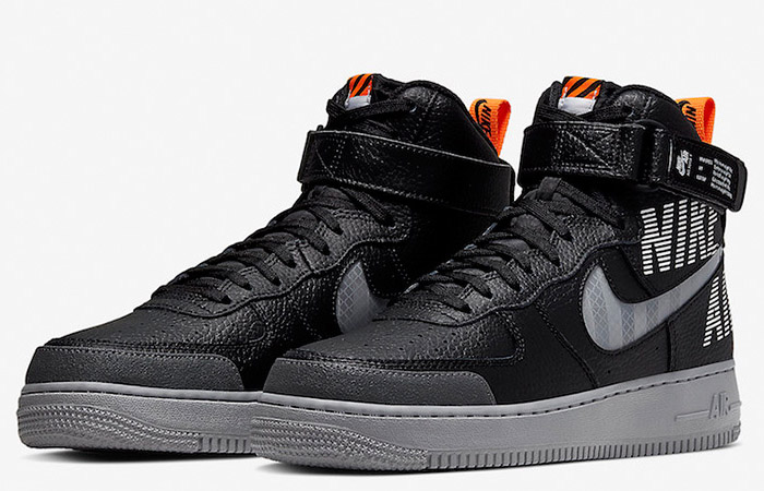 Nike Air Force 1 High Grey Black CQ0449-001 05