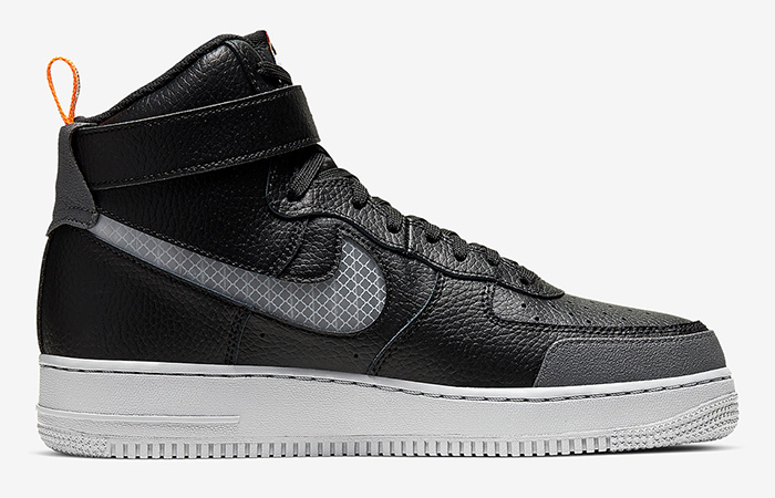 Nike Air Force 1 High Grey Black CQ0449-001 06