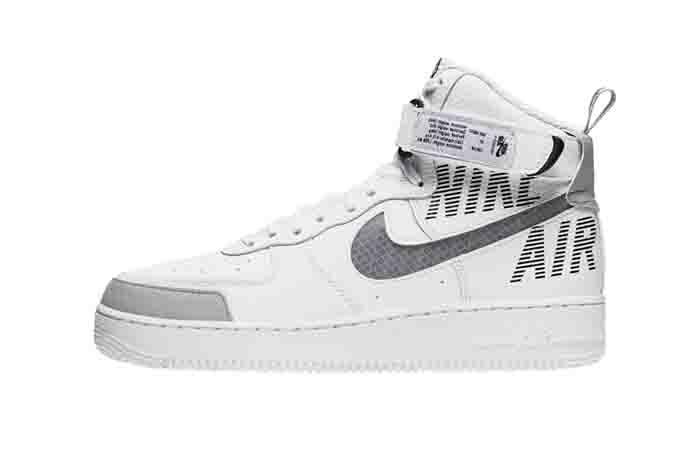 Nike Air Force 1 High Grey White CQ0449-100 01