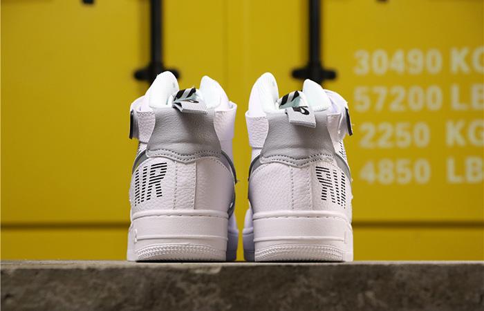 Nike Air Force 1 High Grey White CQ0449-100 04
