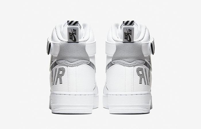 Nike Air Force 1 High Grey White CQ0449-100 08