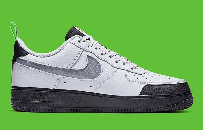 Nike Air Force 1 Low 07 LV8 Grey BQ4421-001 03