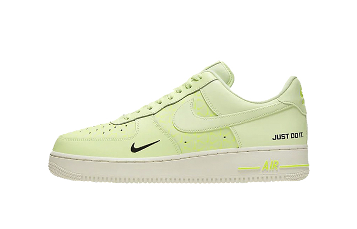Nike Air Force 1 Low Just Do It Neon CT2541-700 01
