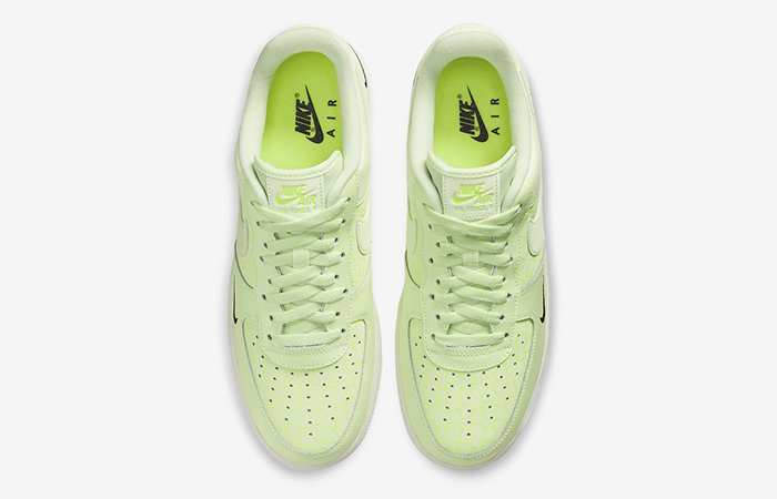 Nike Air Force 1 Low Just Do It Neon CT2541-700 04