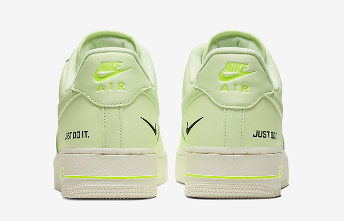 Nike Air Force 1 Low Just Do It Neon CT2541-700 05
