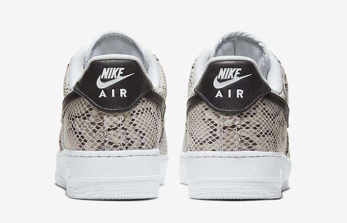 Nike Air Force 1 Snakeskin Beige BQ4424 100
