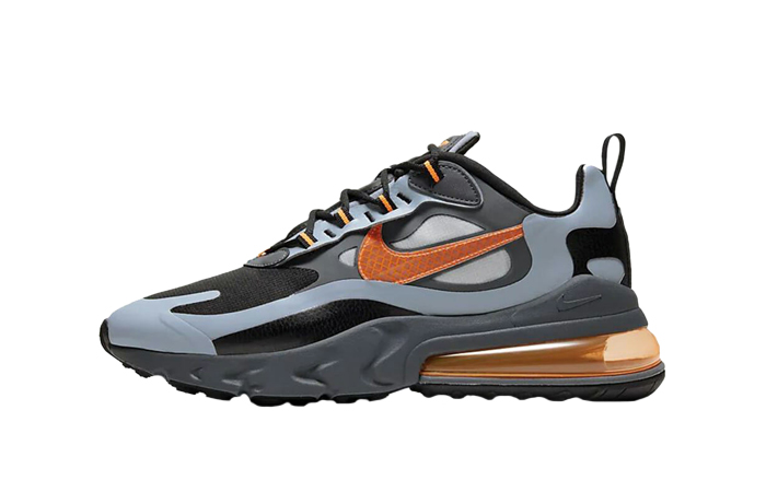 Nike Air Max 270 React Grey Orange CD2049-006 01