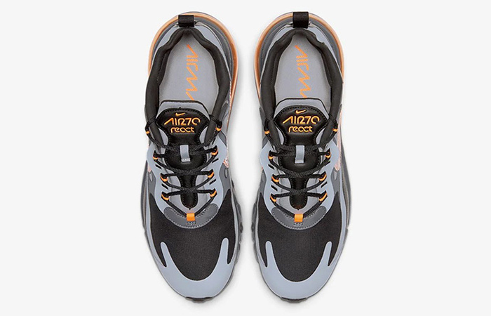 Nike Air Max 270 React Grey Orange CD2049-006 03