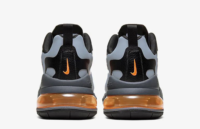 Nike Air Max 270 React Grey Orange CD2049-006 04