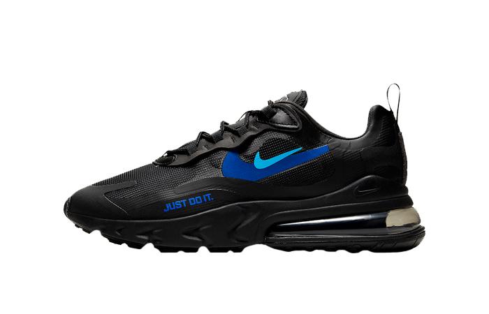 Nike Air Max 270 React Just Do It Black CT2203-001 01