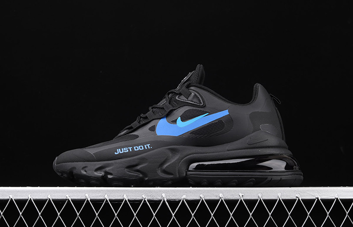Nike Air Max 270 React Just Do It Black CT2203-001 02