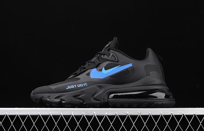 Nike Air Max 270 React Just Do It Black CT2203-001 02