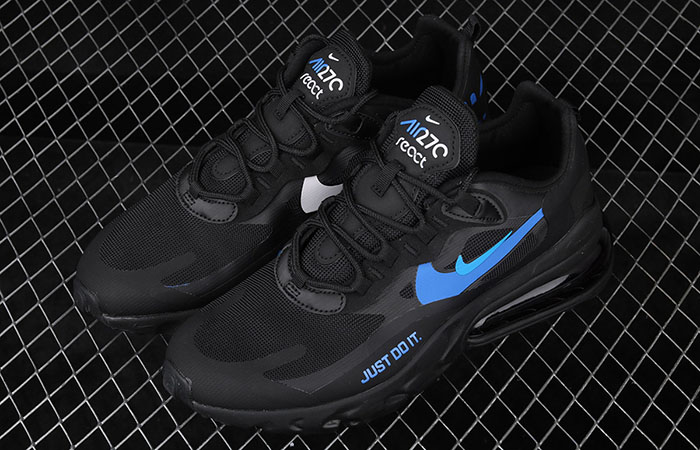 Nike Air Max 270 React Just Do It Black CT2203-001 03