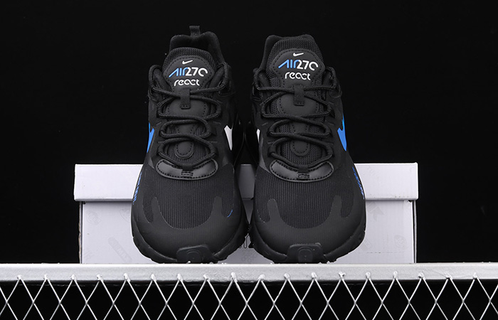 Nike Air Max 270 React Just Do It Black CT2203-001 04