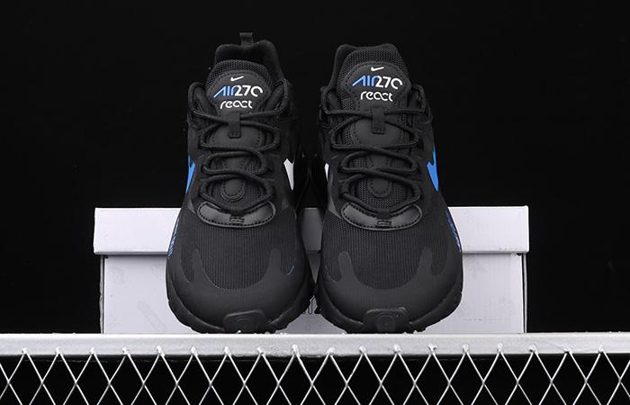 Nike Air Max 270 React Just Do It Black CT2203-001 04