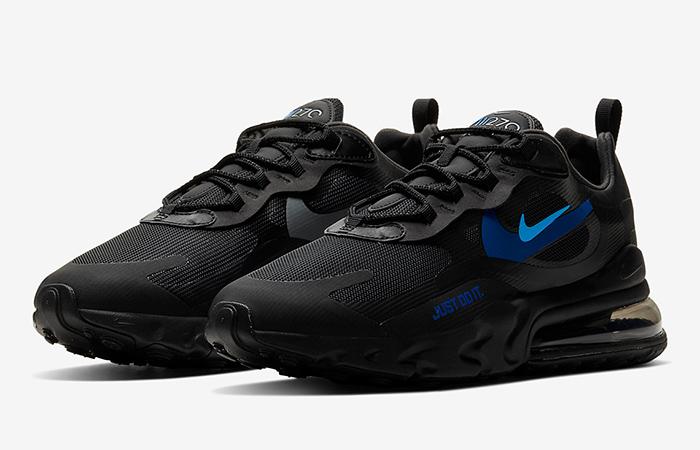 Nike Air Max 270 React Just Do It Black CT2203-001 05