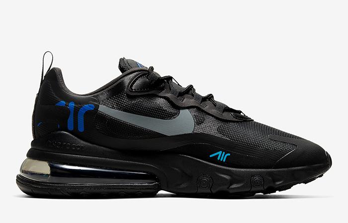 Nike Air Max 270 React Just Do It Black CT2203-001 06