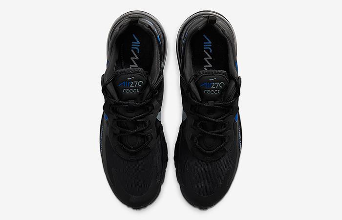 Nike Air Max 270 React Just Do It Black CT2203-001 07