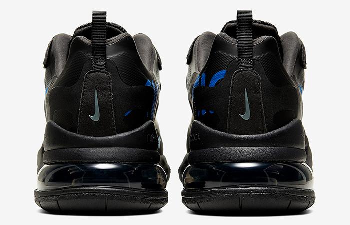 Nike Air Max 270 React Just Do It Black CT2203-001 08