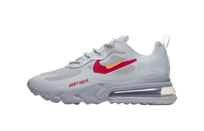Nike Air Max 270 React Just Do It Grey CT2203-002