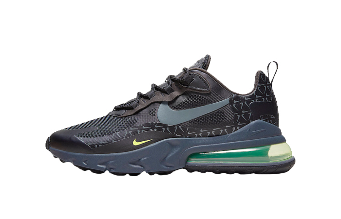 Nike Air Max 270 React Just Do It Pack Black Grey CT2538-001 01