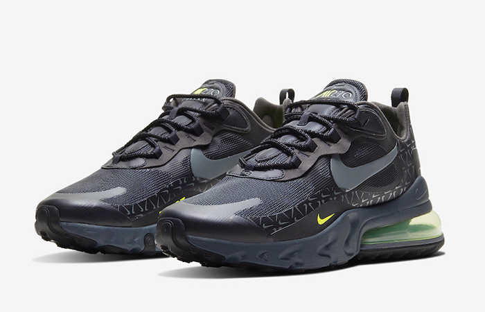 Nike Air Max 270 React Just Do It Pack Black Grey CT2538-001 02