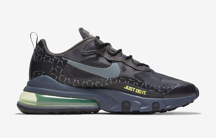 Nike Air Max 270 React Just Do It Pack Black Grey CT2538-001 03
